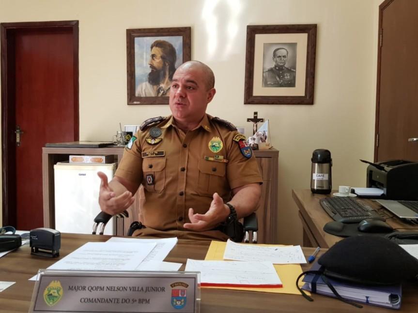Comandante do 5º Batalhão avalia relação da PM com acomunidade