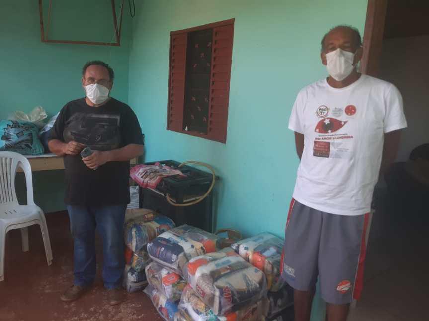 Movimento Nacional dos Direitos Humanos e apoiadores assistem famílias vulneráveis emLondrina